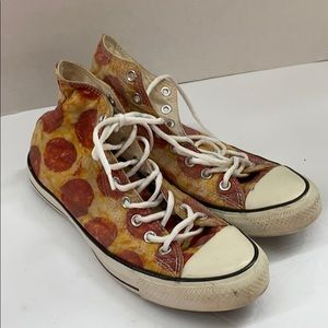 Converse Unisex M8, W1 Pizza Sneakers hi-top